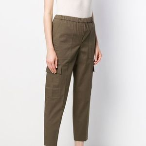 Theory Mid Rise Cargo Chinos Sz M NWOT